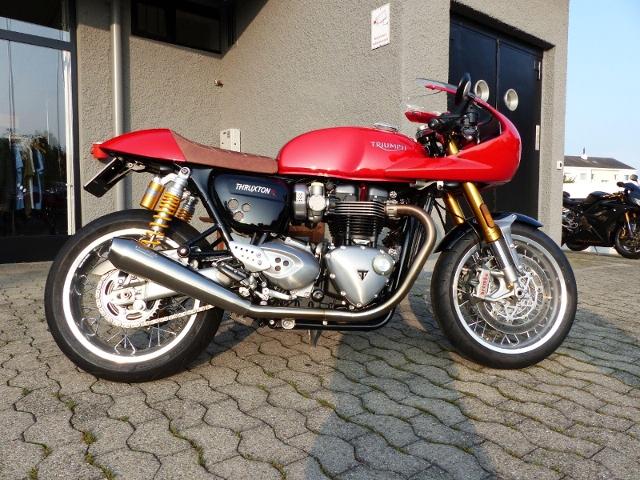 Motorrad kaufen TRIUMPH Thruxton 1200 R ABS Occasion