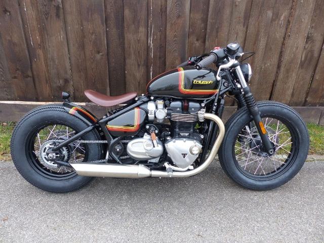 Motorrad kaufen TRIUMPH Bonneville 1200 Bobber CUSTOM Neufahrzeug