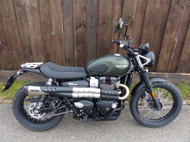 Motorrad kaufen TRIUMPH Street Scrambler 900 Neufahrzeug