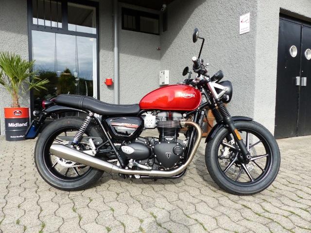 Motorrad kaufen TRIUMPH Street Twin 900 Occasion