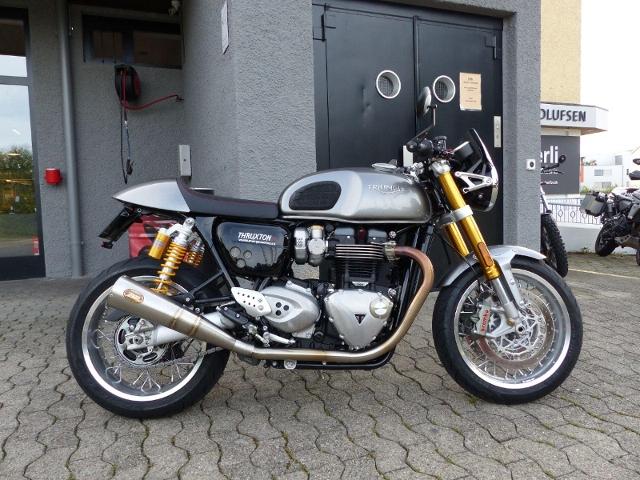 Motorrad kaufen TRIUMPH Thruxton 1200 R Occasion