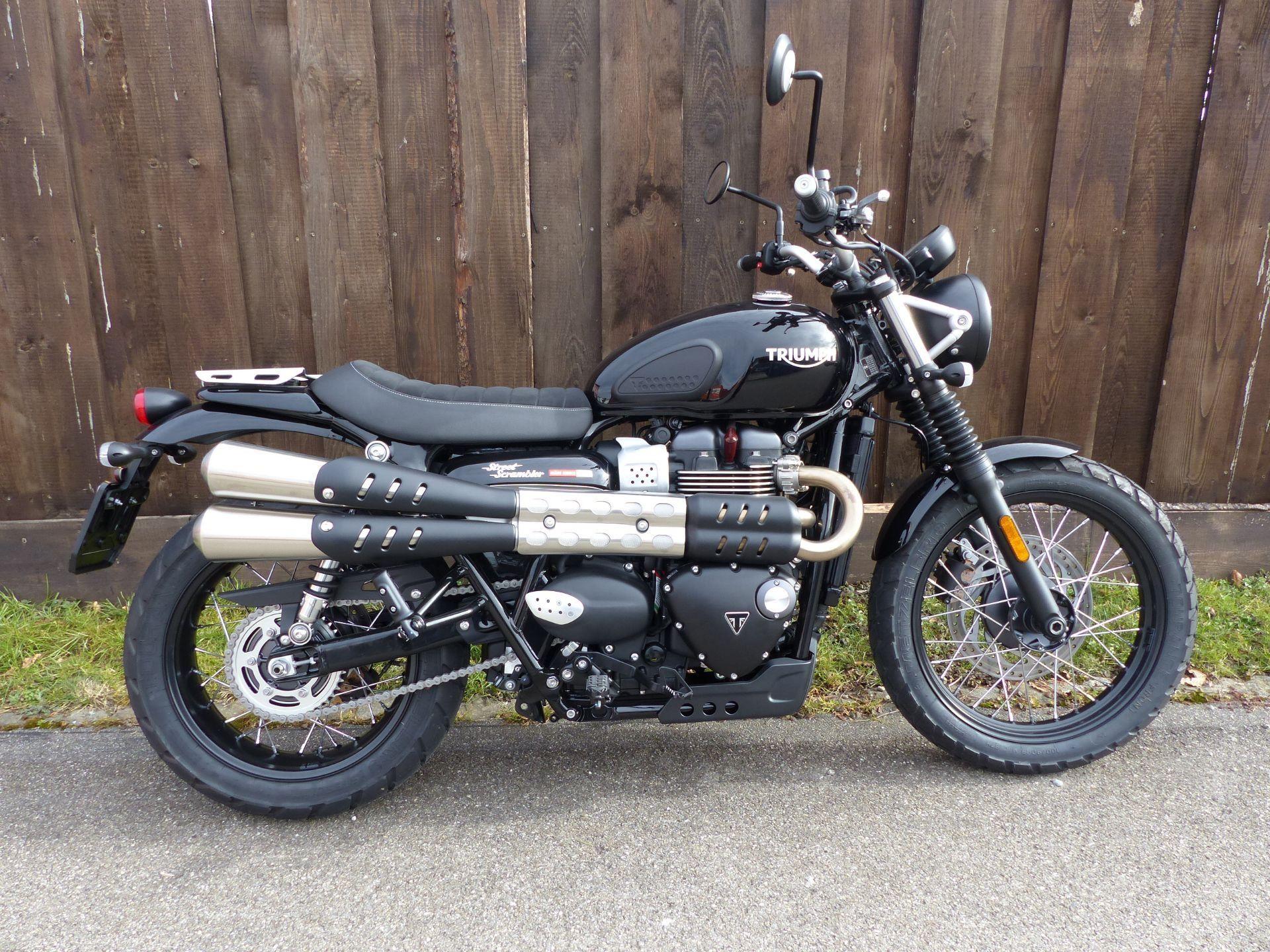 buy motorbike new vehicle bike triumph street scrambler 900 m ge motos gmbh frauenfeld id 4784344. Black Bedroom Furniture Sets. Home Design Ideas
