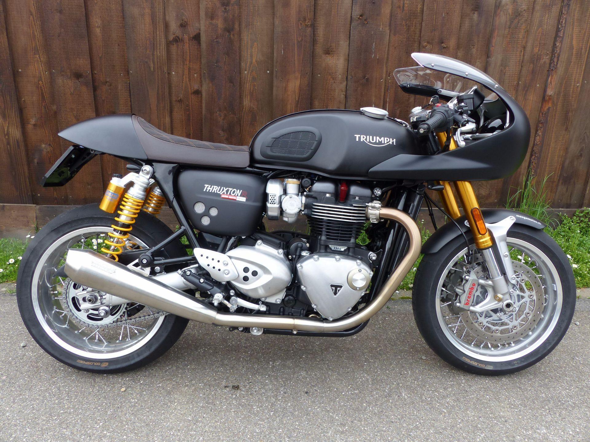 motorrad neufahrzeug kaufen triumph thruxton 1200 r abs track racer m ge motos gmbh marthalen. Black Bedroom Furniture Sets. Home Design Ideas