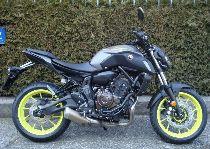 Motorrad Mieten & Roller Mieten YAMAHA MT 07 ABS 35kW (Naked)