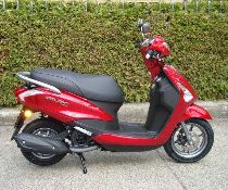 Rent a motorbike YAMAHA Delight 125 (Scooter)