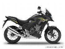 Motorrad kaufen Occasion HONDA CB 500 XA (enduro)