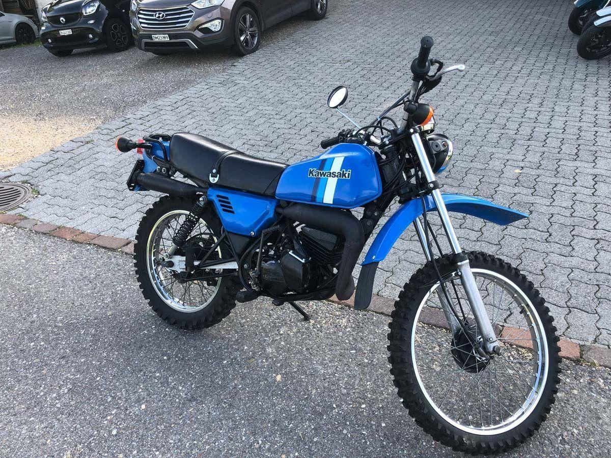 Buy Motorbike Oldtimer Kawasaki Ke 125 2 Rad Center Boller Forch Id