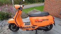 Motorrad Mieten & Roller Mieten LAMBRETTA V125 Special (Roller)