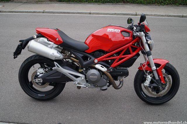 motorrad occasion kaufen ducati 696 monster scherrer motos. Black Bedroom Furniture Sets. Home Design Ideas
