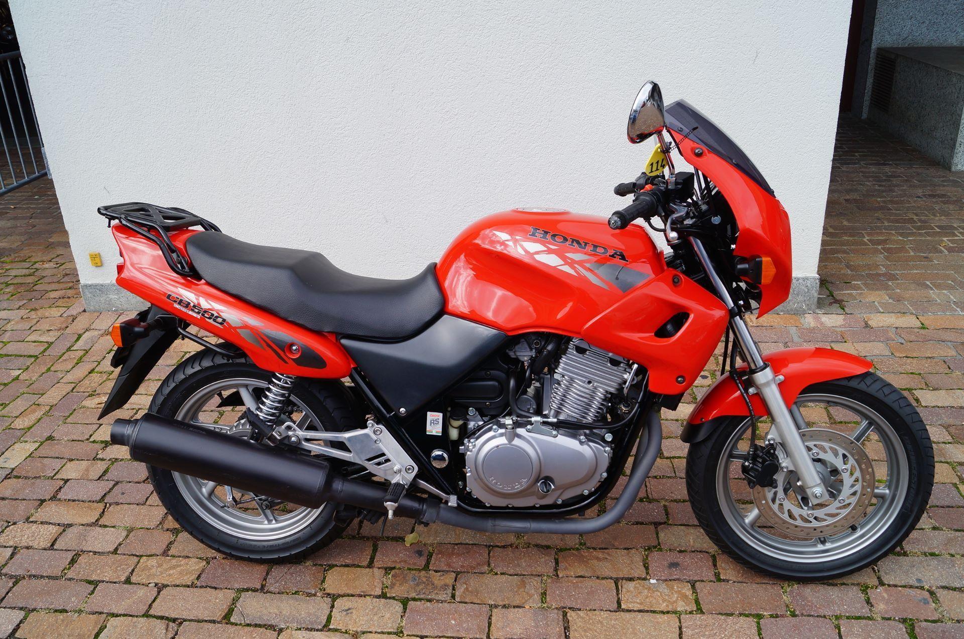 motorrad occasion kaufen honda cb 500 scherrer motos ag steckborn. Black Bedroom Furniture Sets. Home Design Ideas