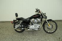 Motorrad kaufen Occasion HARLEY-DAVIDSON XL 883 C Sportster Custom (custom)