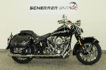 Motorrad kaufen Occasion HARLEY-DAVIDSON FLSTSC 1584 Softail Heritage Springer Classic (custom)