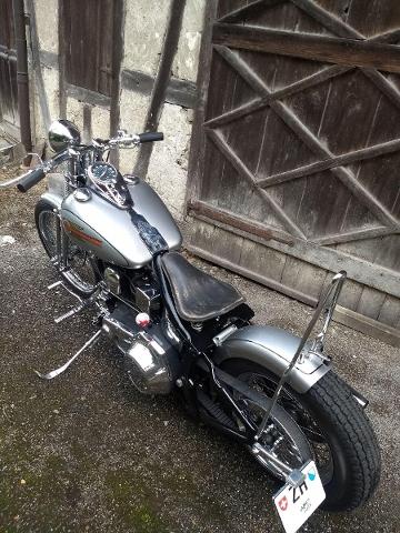 Motorrad kaufen HARLEY-DAVIDSON FXST 1340 Softail Standard FXSTS Springer Occasion