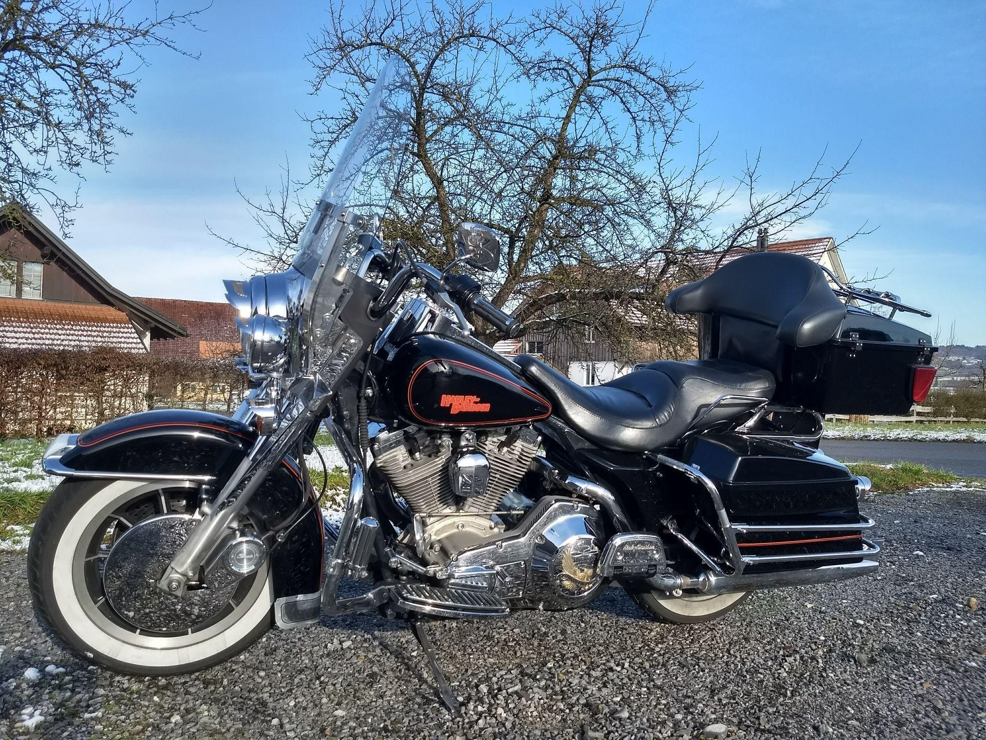 motorrad occasion kaufen harley davidson flhs 1340 electra glide sven cycles waltalingen. Black Bedroom Furniture Sets. Home Design Ideas