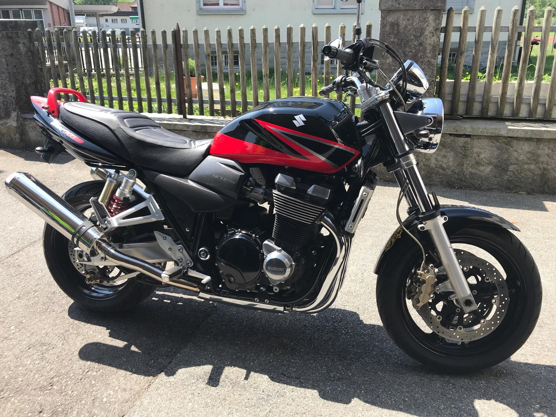 motorrad occasion kaufen suzuki gsx 1400 scorpion inauen zweiradsport ag altst tten. Black Bedroom Furniture Sets. Home Design Ideas