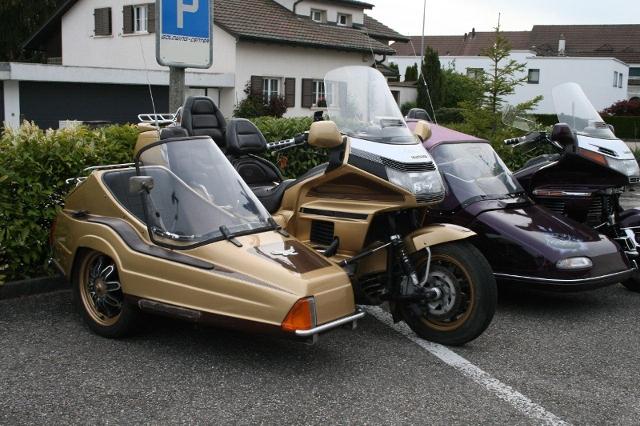 Motorrad kaufen HONDA GL 1500 Gold Wing EML Gespann Occasion