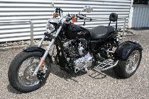 Töff kaufen EML Alle HARLEY-DAVIDSON XL 1200 C Sportster Custom ABS Trike