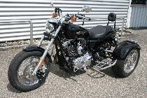 Motorrad kaufen Occasion HARLEY-DAVIDSON XL 1200 CA Sportster Custom ABS (custom)