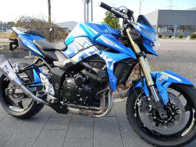 Motorrad kaufen SUZUKI GSR 750 A  Moto GP Freegun Neufahrzeug