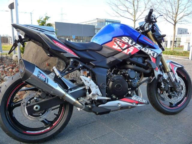 Motorrad kaufen SUZUKI GSR 750 A Freegun Yoshimura Neufahrzeug