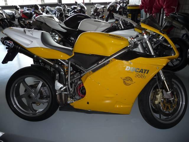 Motorrad kaufen DUCATI 998 S Mono Occasion