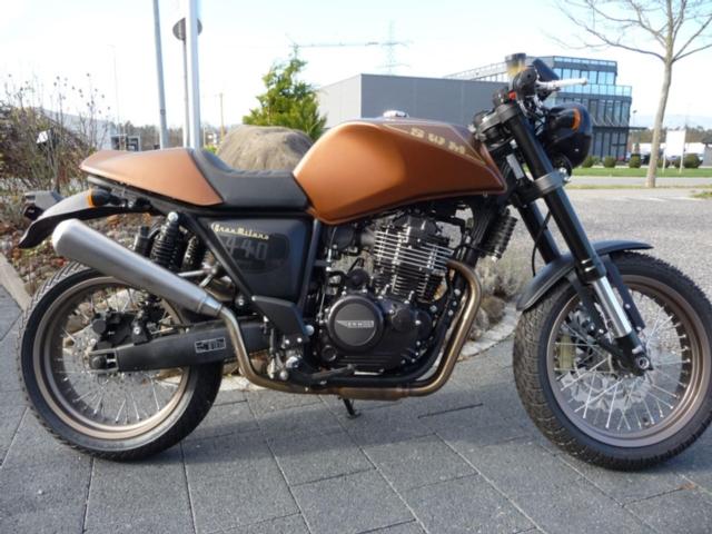 Motorrad kaufen SWM Gran Milano 440 Cafe Racer Neufahrzeug