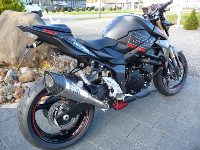 Motorrad kaufen SUZUKI GSR 750 A Freegun Neufahrzeug