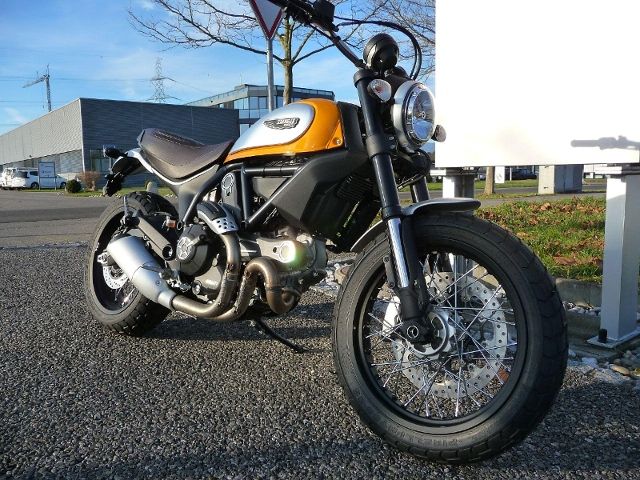 Motorrad kaufen DUCATI 800 Scrambler CLASSIC Neufahrzeug