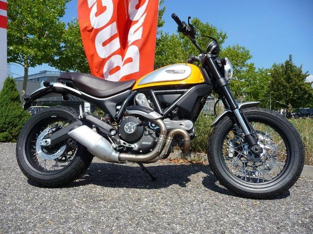 Motorrad kaufen DUCATI 803 Scrambler CLASSIC Neufahrzeug