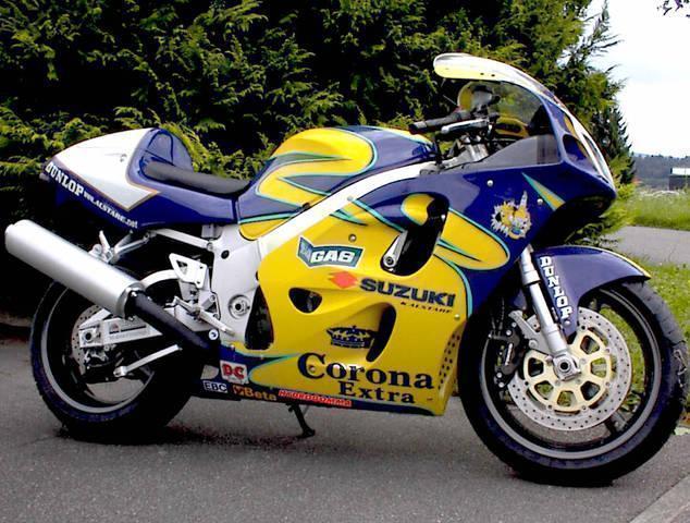 Motorrad kaufen SUZUKI GSX-R 750 INJEC. Mod.W  Jg. 98 Neufahrzeug