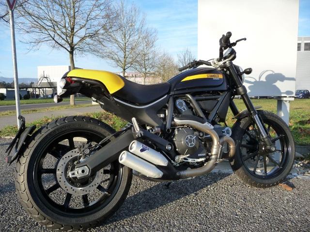 Motorrad kaufen DUCATI 800 Scrambler FULL THROTTLE Neufahrzeug