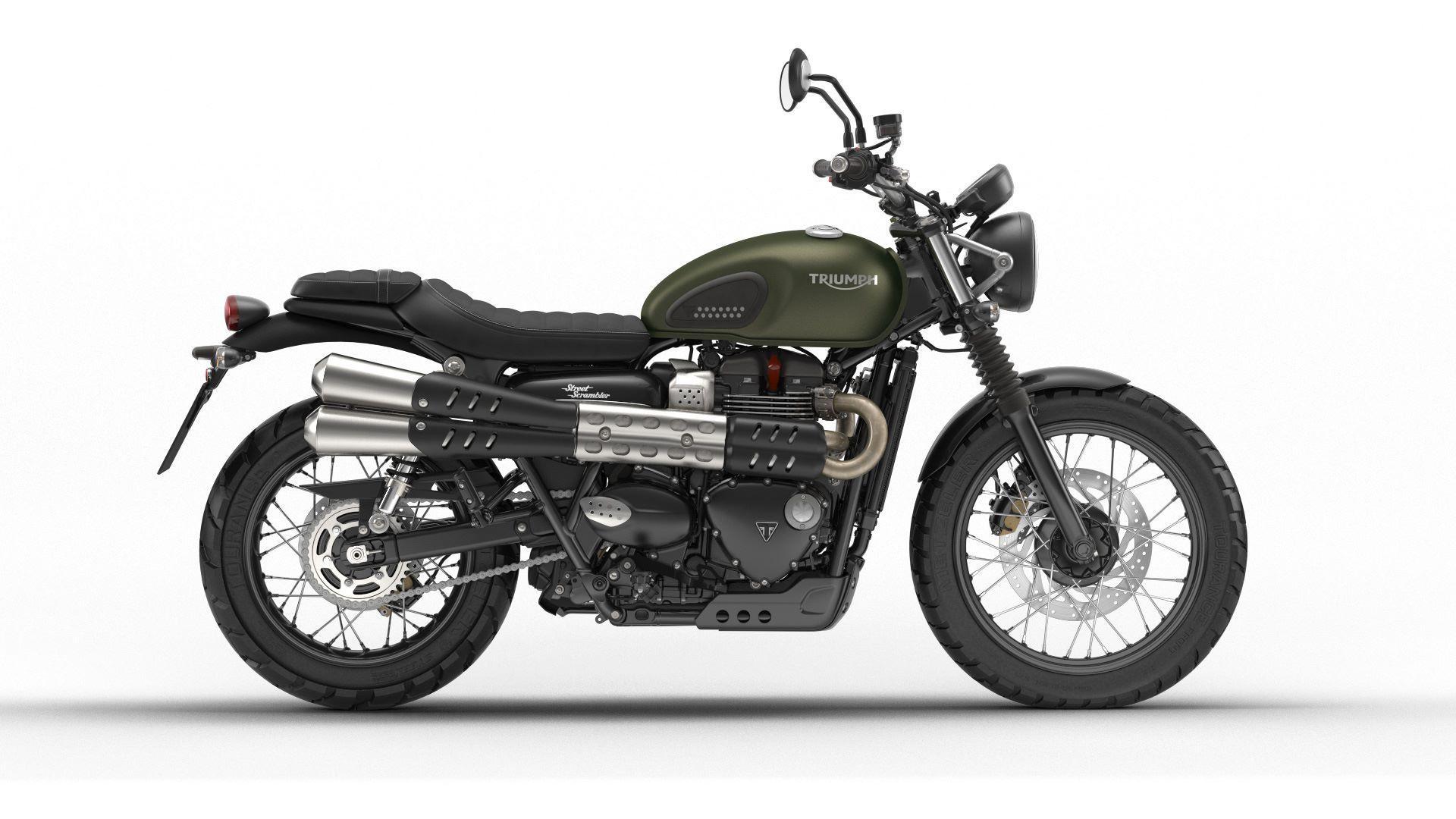 Motorrad Mieten & Roller Mieten TRIUMPH Street Scrambler 900
