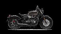Rent a motorbike TRIUMPH Bonneville 1200 Bobber Black (Retro)