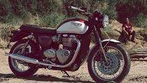 Rent a motorbike TRIUMPH Bonneville T100 900 (Retro)
