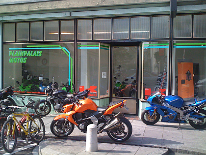 Plainpalais Motos