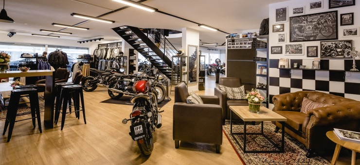 Job  Iff Motorcycles AG Triumph Luzern West, Gettnau
