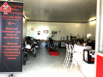 Custom Bike Garage