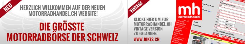 Herzlich willkommen auf der neuen Motorradhandel.ch Website!