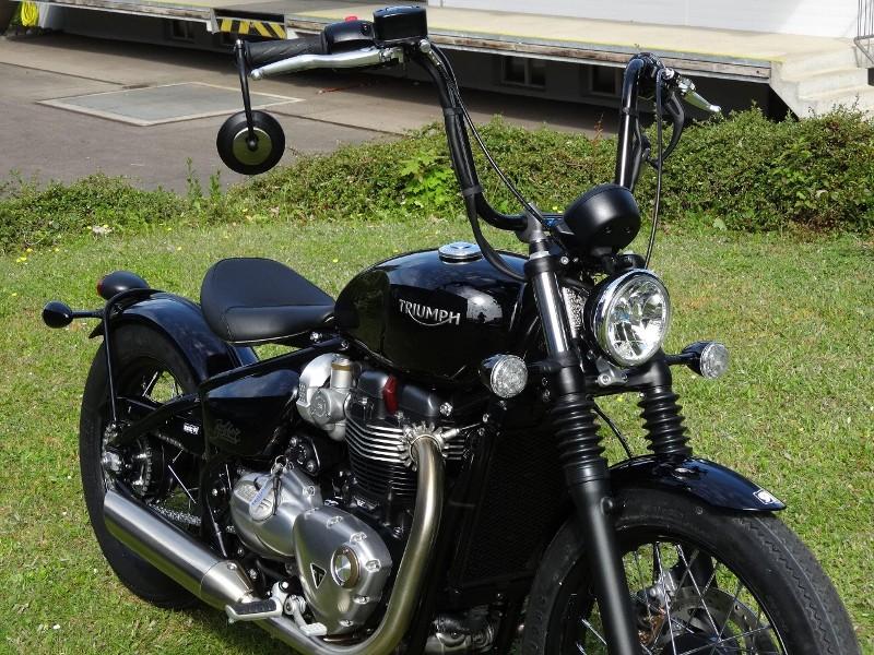 Motorrad Höri kaufen TRIUMPH Bonneville 1200 Nicht definiert Bobber ...